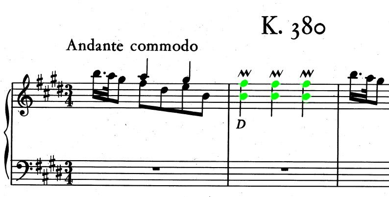sonata K 380