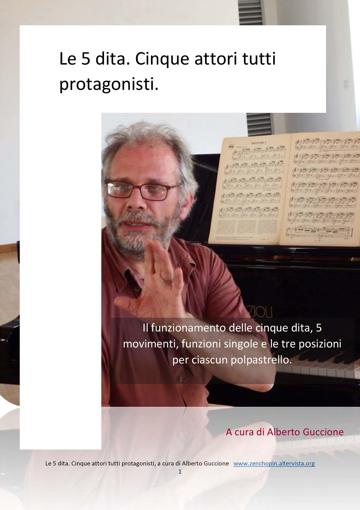 quaderni di Tecnica pianistica